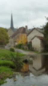 le jolie village de Thollet