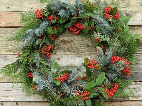 Winterberry + Evergreen
