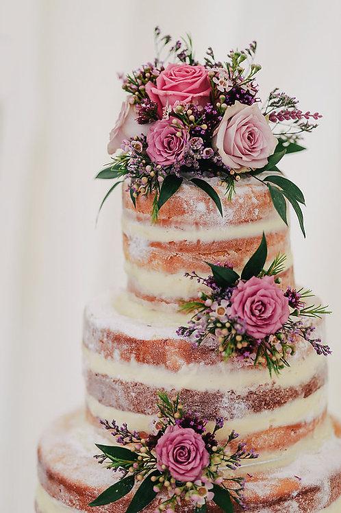 Pink Petal Tea Cake