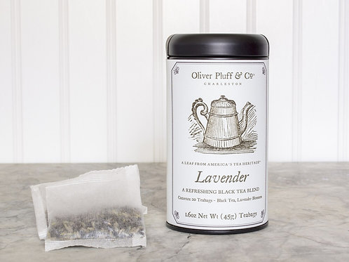 Lavender Tea Tin (20 Bags)