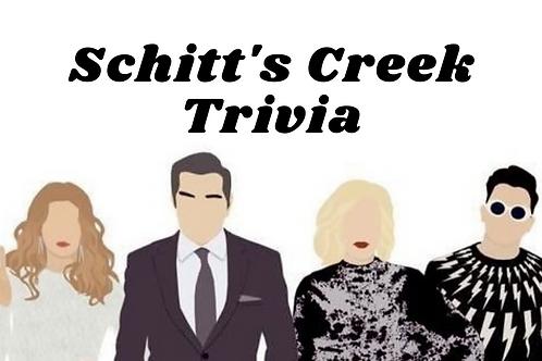 Schitt's Creek Trivia & Candle Workshop