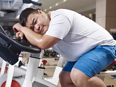 Why doesn't exercise help you lose much weight?