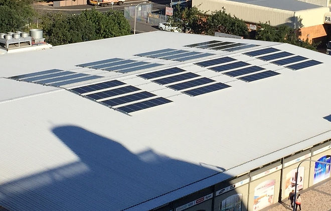 Commercial solar power, solar for business