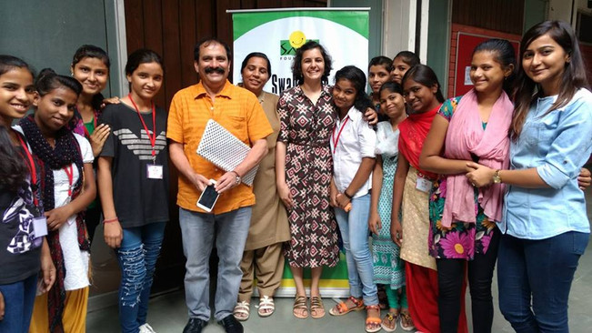 Workshop in partnership with Smile Foundation