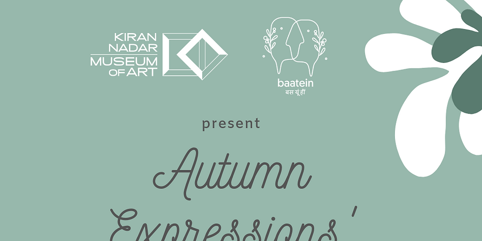 Autumn Expressions' Workshop: a parent & a child
