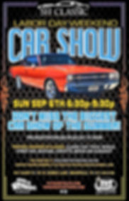 SH Classic Labor Day Event Advertisment.