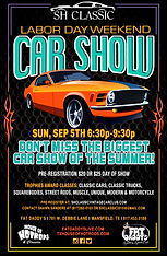SH Classic Labor Day Event Advertisment