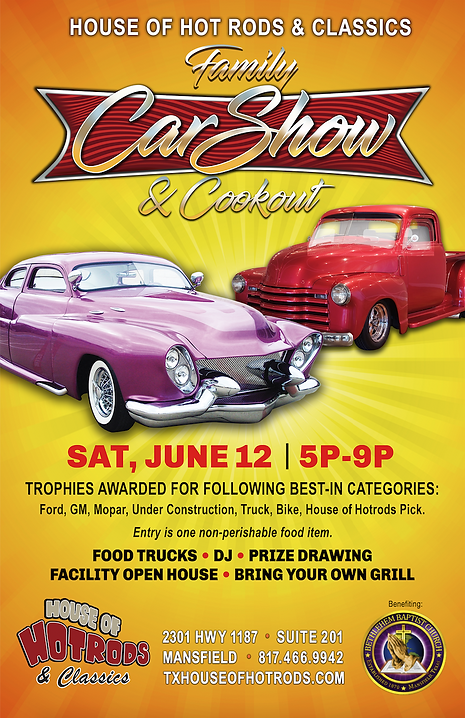 House of Hot Rods June Advertisment Even