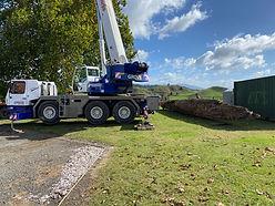 Totara Log relocation to Kahotea Marae.J