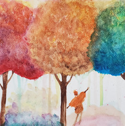 Watercolor: Forest