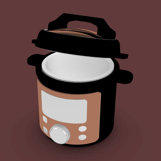 3D Modeling: Rice Cooker
