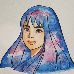 Watercolor: Universal Lady