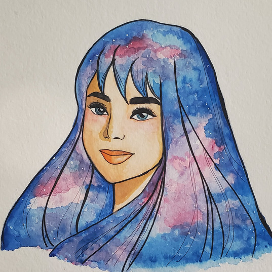 Watercolor: Universal Lady