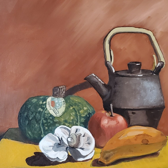Oil Painting: Still Life