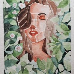 Watercolor: Green