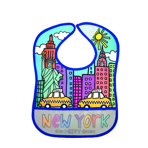 BIB NYC HAPPY BLUE