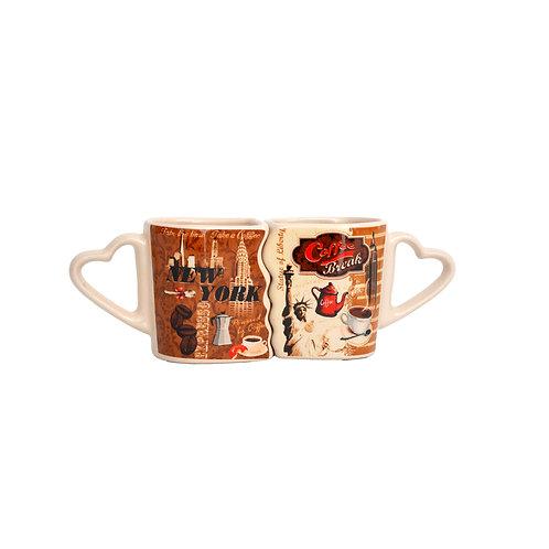 MINI COUPLE MUG - NYC COFFEE