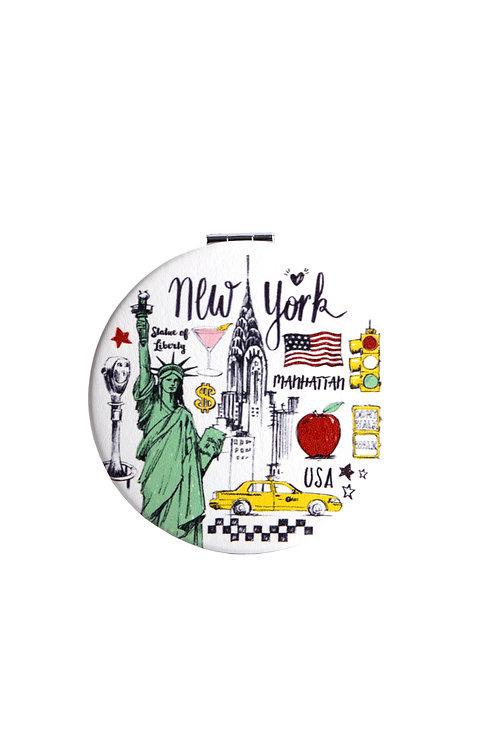 ROUND MIRROR - NYC BD