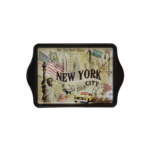 TIN TRAY - NYC VINTAGE