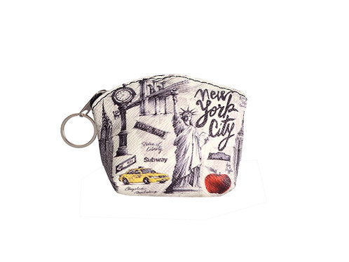 COIN PURSES ZIP - NYC PENCIL