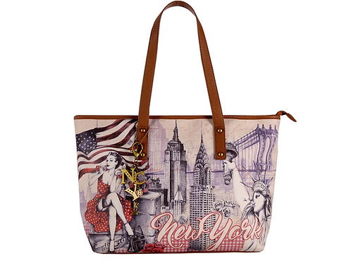 SHOPPING BAG NYC PINUP