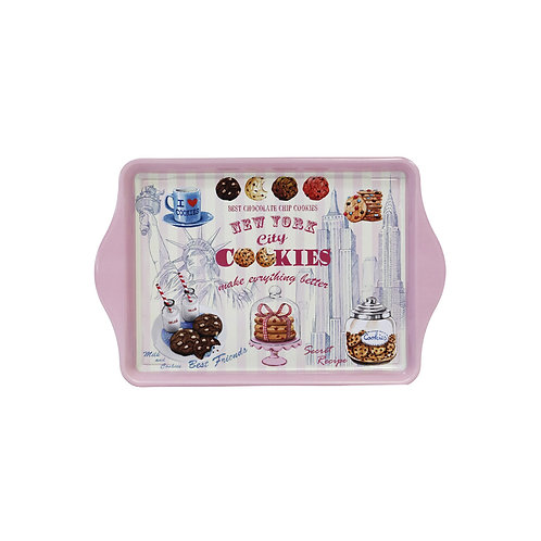 TIN TRAY - NYC COOKIES PINK