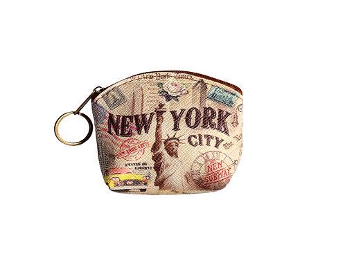 COIN PURSES ZIP - NYC VINTAGE