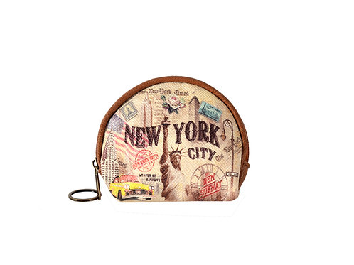COIN PURSES ROUND - NYC VINTAGE