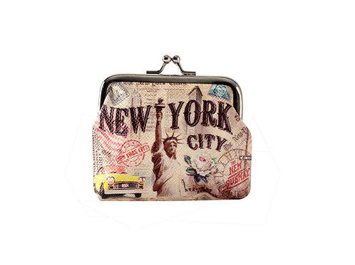 COIN PURSES CLIP - NYC VINTAGE