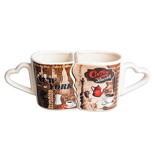 COUPLE MUG - COFFEE NYC