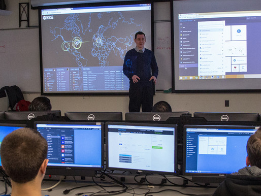 Our new Center for Cybersecurity site is live!