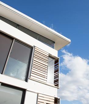 Exterio Modern Home with sky