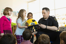 Firefighters Visit School