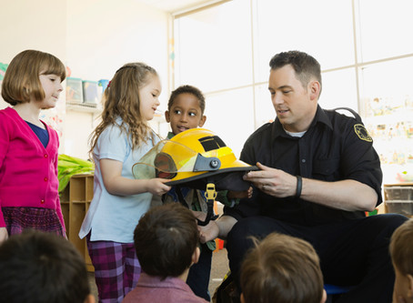 Firefighters Visit School
