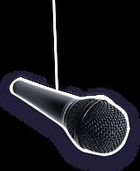 Comedy-Duo Die Zwillinge Mikrofon