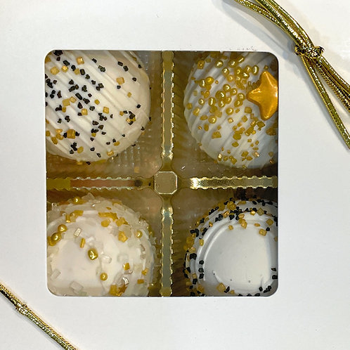 CAKE TRUFFLE ASSORTMENT BOX - 4 BOXES OF 4