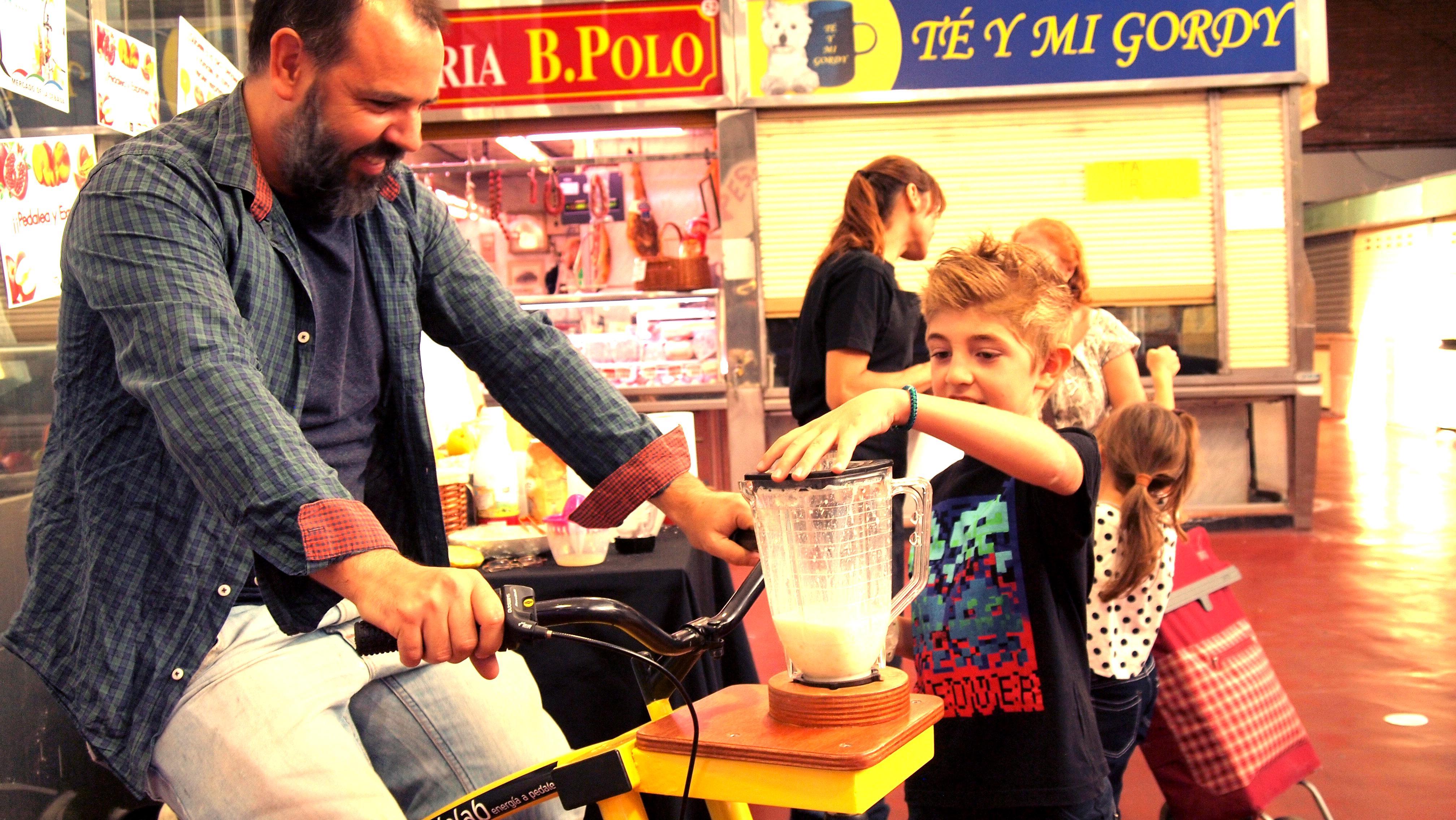 Mercado de La Cebada · Bicilicuadora