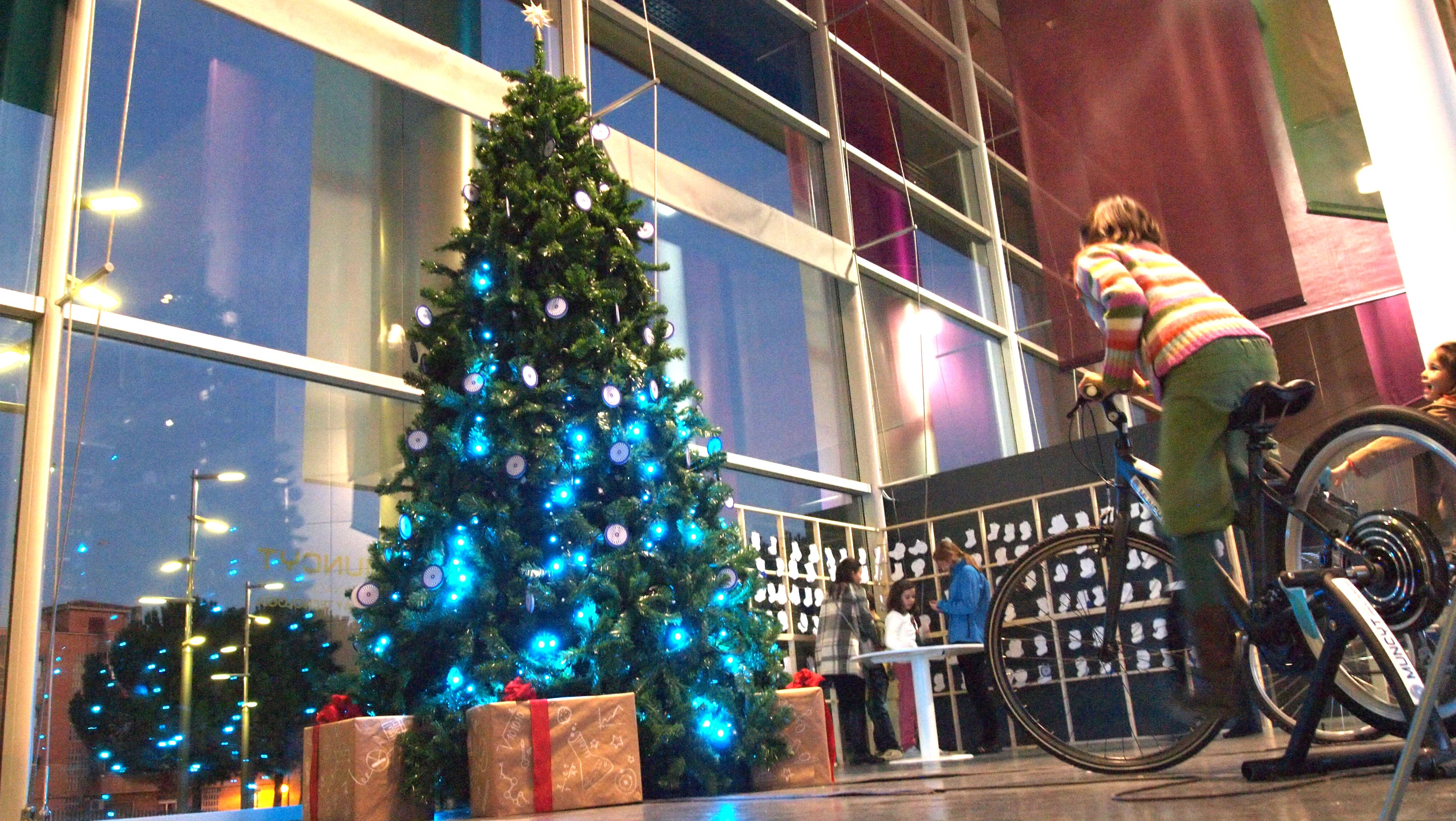 MUNCYT · Navidad a pedales