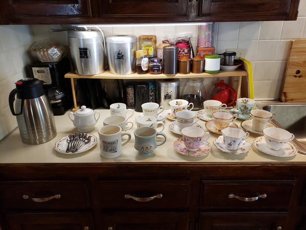 A cup of tea anyone?