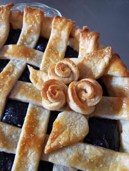 Fruity Pie Flowers
