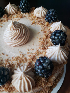 Cinnamon Blackberry Spice Cake