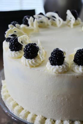 Vanilla Berry Cake