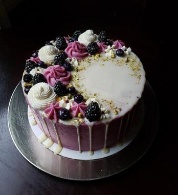 Bruiseberry Cake