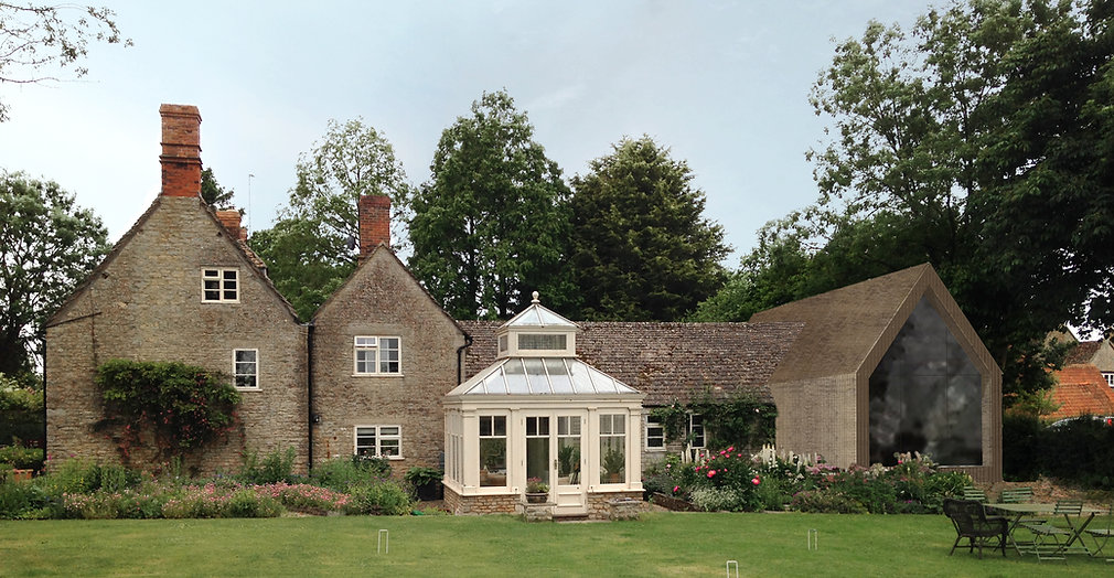 Wiltshire, house extension, modern, contemporary, Neat, Neat-studio.com, timber cladding, HeyDougall
