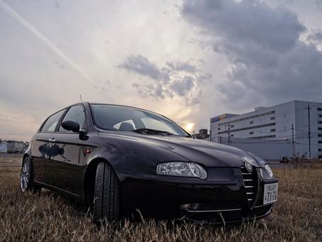 アルファ147 TS 1.6L 5MT 極上車 動画
