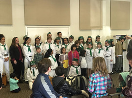 Contra Costa County 4-H Members posing for a photo at the County Presentation Day.