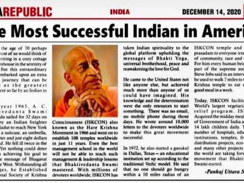 Orang India yang Paling Sukses di Amerika