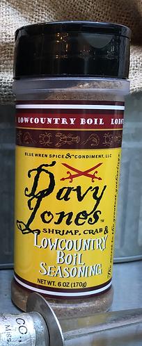 Davy Jones Shrimp, Crab & Lowcountry Boil Seasoning (6-Oz)