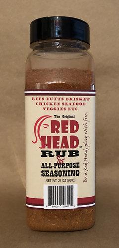 Red Head Rub & All-Purpose Seasoning (24-Oz)