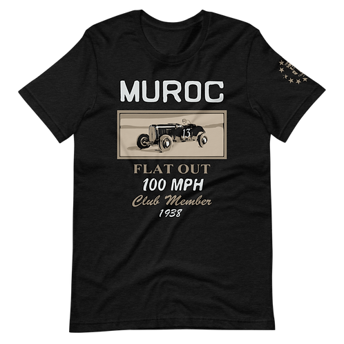 Muroc Flat Out 100 MPH Club Member